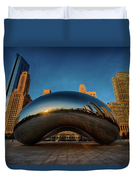 Morning Bean Duvet Cover