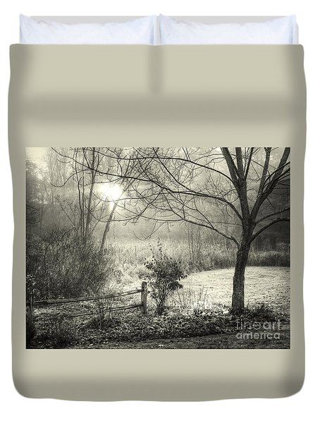 Morning Breaking Duvet Cover by Betsy Zimmerli