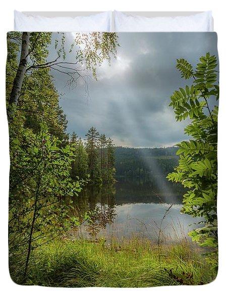 Morning Breath Duvet Cover by Rose-Marie Karlsen