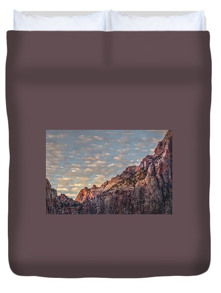 Morning Clouds Duvet Cover