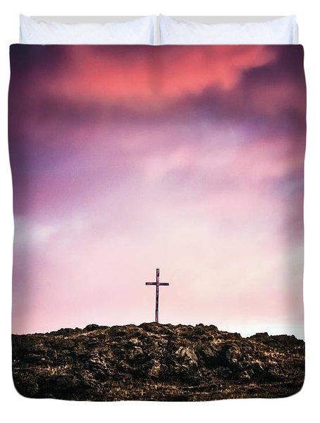 Morning Cross Duvet Cover