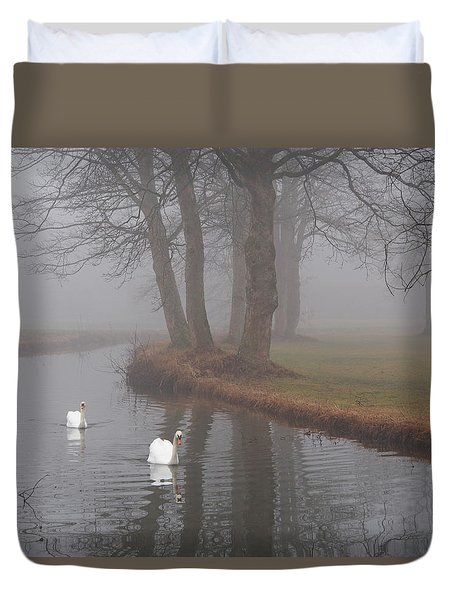 Morning Cruise Duvet Cover