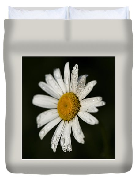 Morning Daisy Duvet Cover