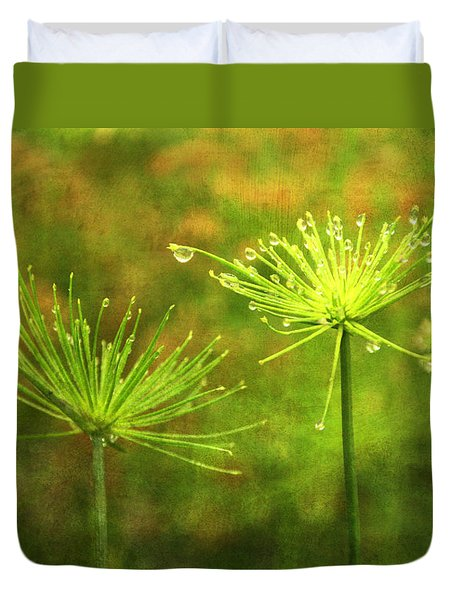Morning Dew Duvet Cover