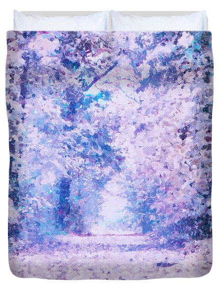 Morning Fantasy Forest Impressions Duvet Cover