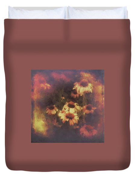 Morning Fire - Fierce Flower Beauty Duvet Cover