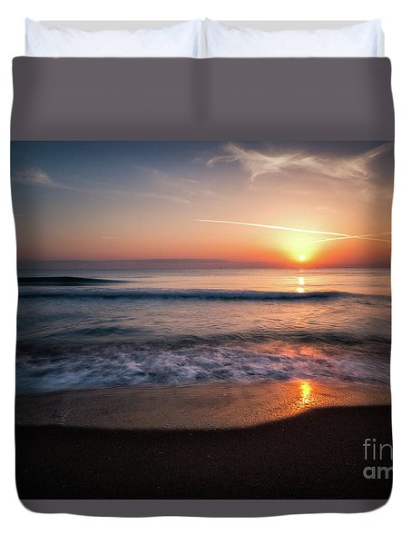 Morning Fire Duvet Cover by Giuseppe Torre