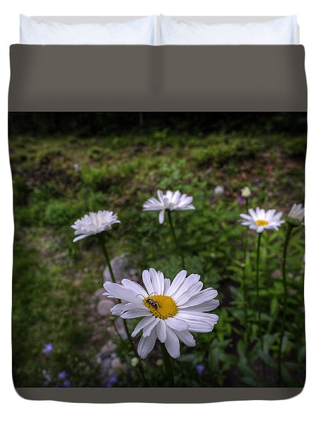 Morning Flowers Duvet Cover