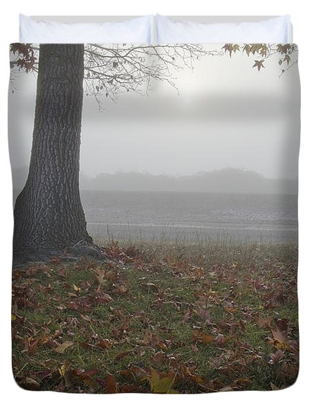 Morning Fog Duvet Cover by Jim And Emily Bush