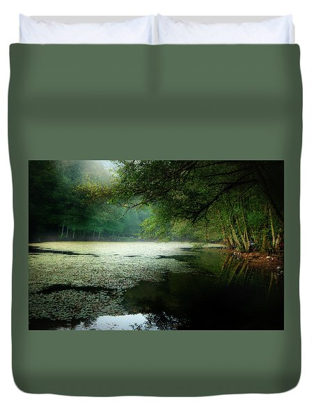 Morning Fog Duvet Cover