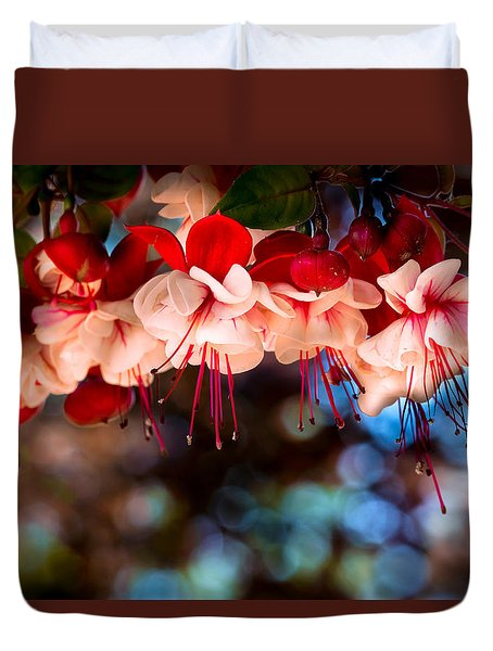 Morning Fuchsia Duvet Cover