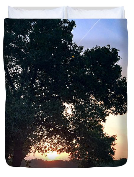 morning glory 16AUG15 Duvet Cover