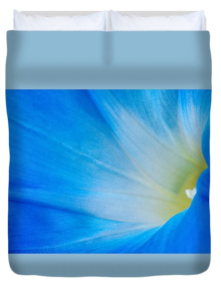 Morning Glory Duvet Cover by Carolyn Dalessandro
