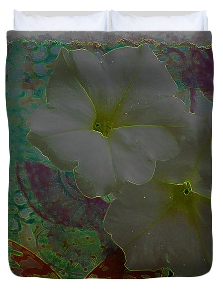Morning Glory Fantasy Duvet Cover