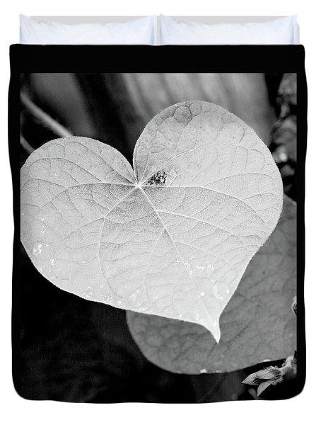 Morning Glory Heart Duvet Cover
