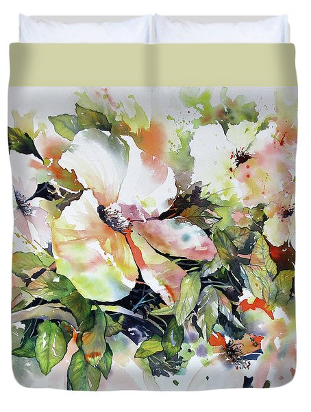 Morning Glow 2 Duvet Cover by Rae Andrews