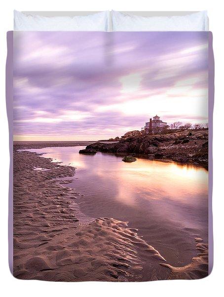 Morning Glow Good Harbor Duvet Cover