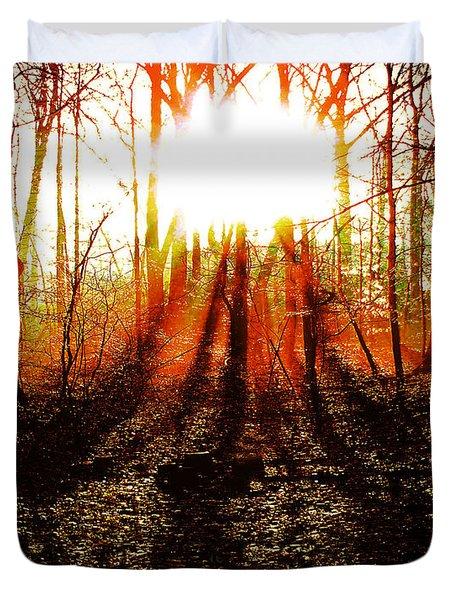 Morning Glow Duvet Cover