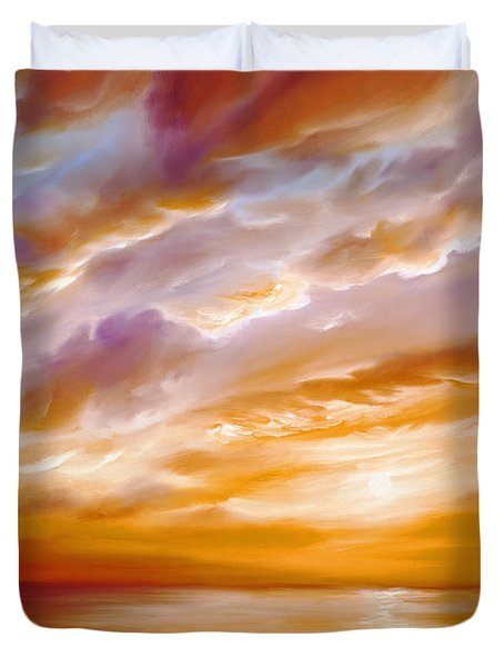 Morning Grace Duvet Cover