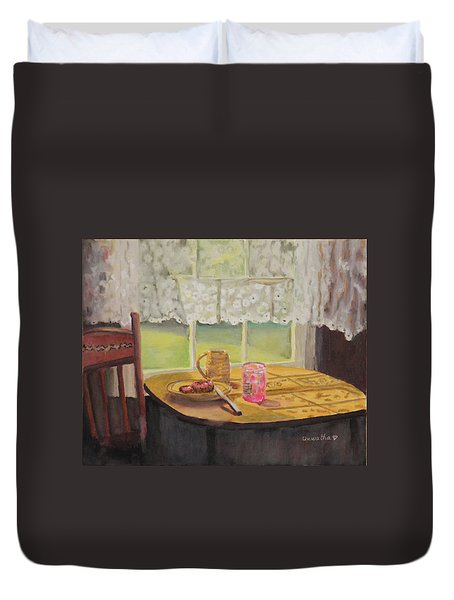 Morning Has Broken Duvet Cover