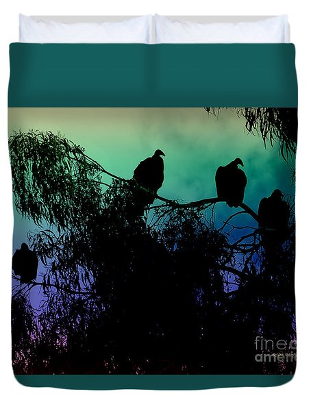 Duvet Cover featuring the photograph Morning Has Broken by Rhonda Strickland