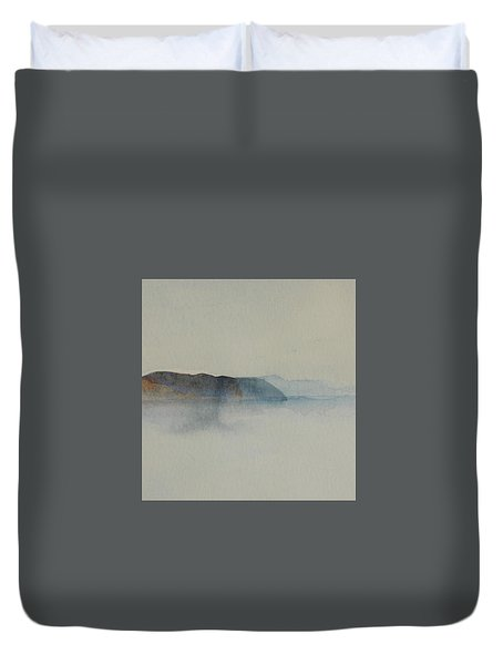 Morning Haze In The Swedish Archipelago On The Westcoast.2 Up To 28 X 28 Duvet Cover