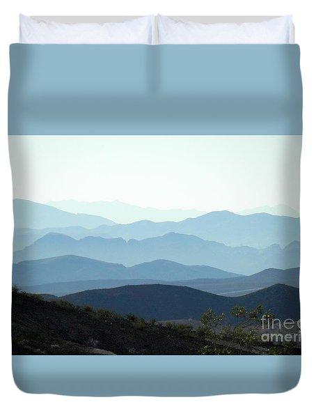 Morning Haze Duvet Cover
