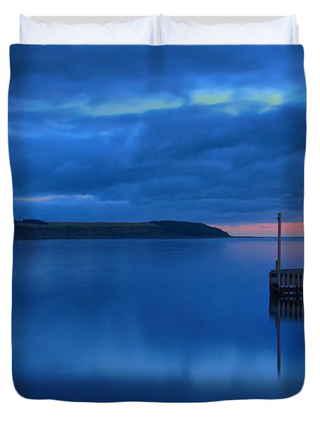 Morning In Cape Breton Duvet Cover by Joe  Ng