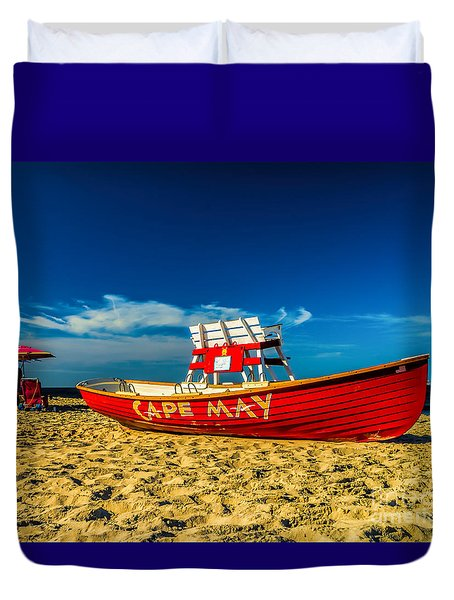 Morning In Cape May Duvet Cover
