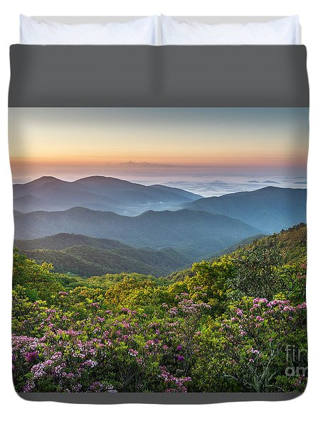 Morning Layers Duvet Cover