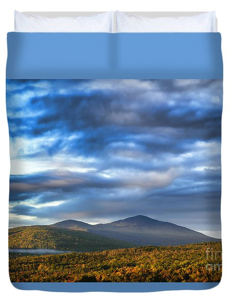 Morning Light Duvet Cover by Alana Ranney
