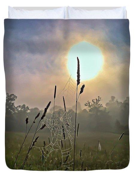 Morning Light Duvet Cover by Kerri Farley