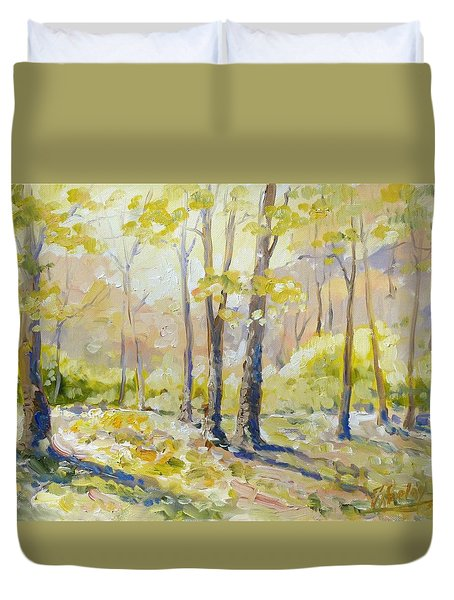 Morning Light - Spring Duvet Cover