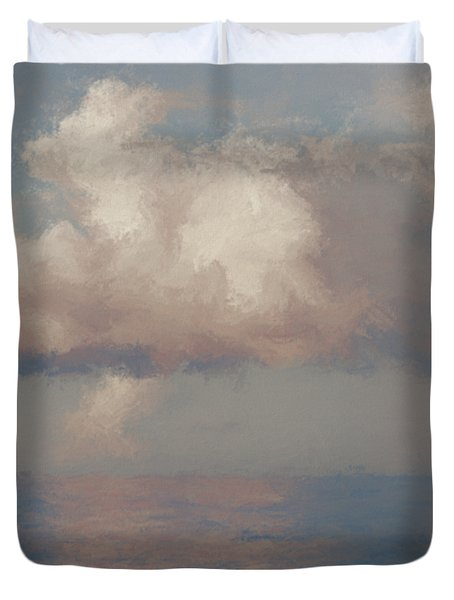 Morning Lights Duvet Cover