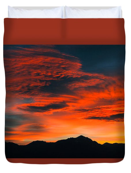 Morning Magic Duvet Cover