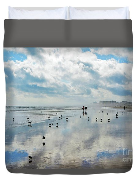 Morning Magnificence Duvet Cover
