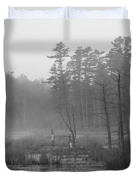 Morning Marsh Duvet Cover