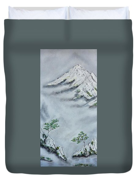 Morning Mist 2 Duvet Cover