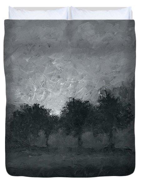 Morning Mist 3 Duvet Cover