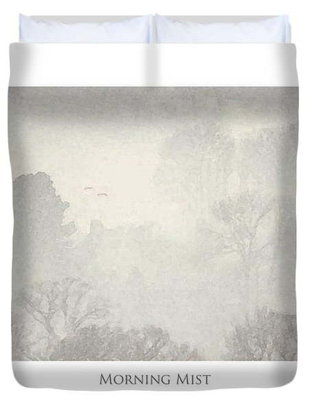 Morning Mist Duvet Cover