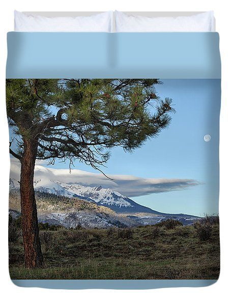Morning Moon Duvet Cover