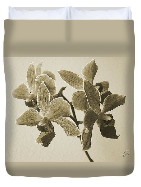 Morning Orchid Duvet Cover