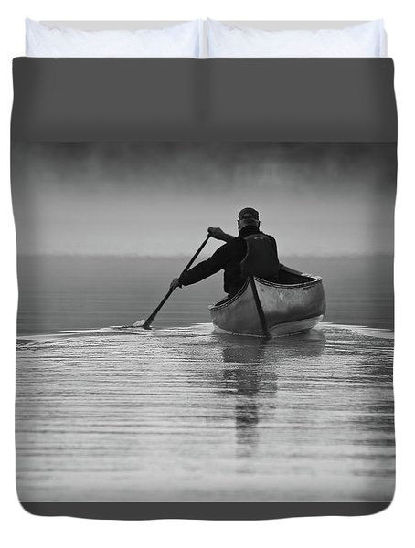 Morning Paddle Duvet Cover