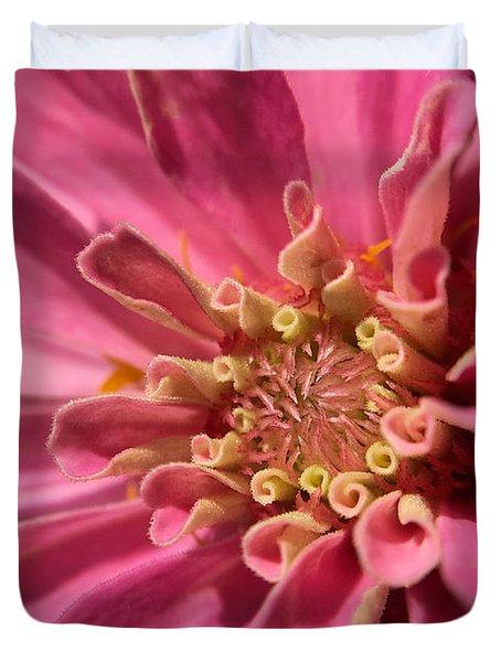 Morning Pink Duvet Cover