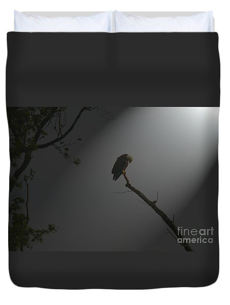 Duvet Cover featuring the photograph Morning Prayer by Geraldine DeBoer