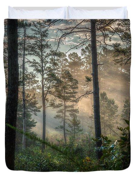 Morning Rays Duvet Cover