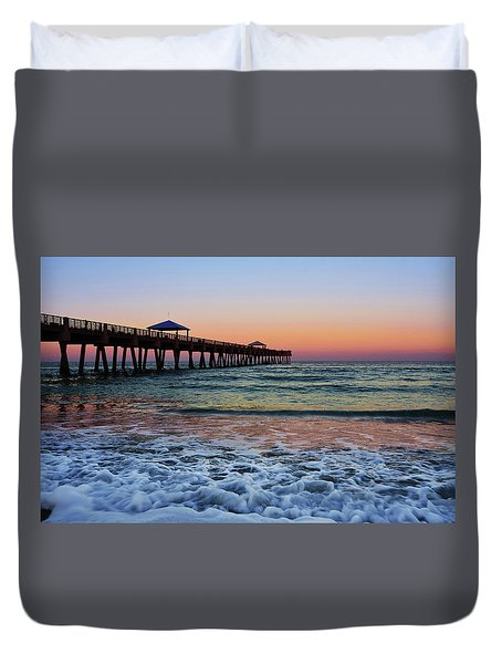Morning Rush Duvet Cover