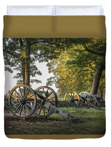 Morning Sentinel Duvet Cover