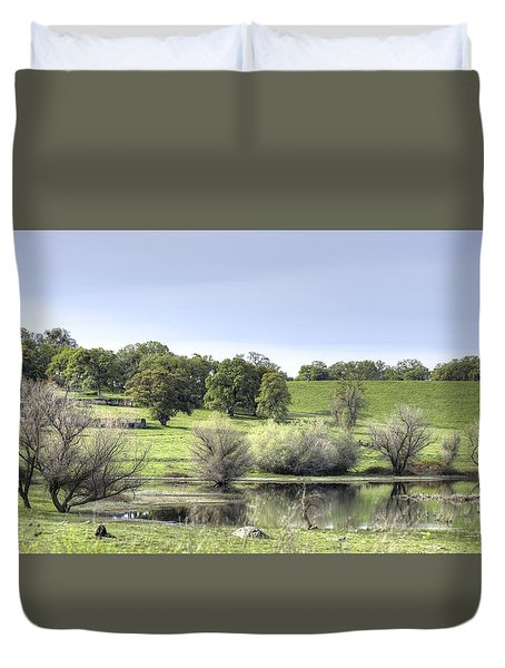 Morning Serenity Duvet Cover