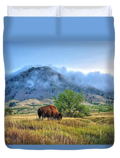 Morning Shift Duvet Cover